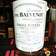 BALVENIE SINGLE VARREL